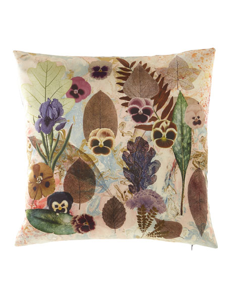 Herbor-hysteria Multicolored Pillow