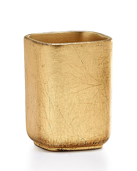Ava Toothbrush Holder, Gold