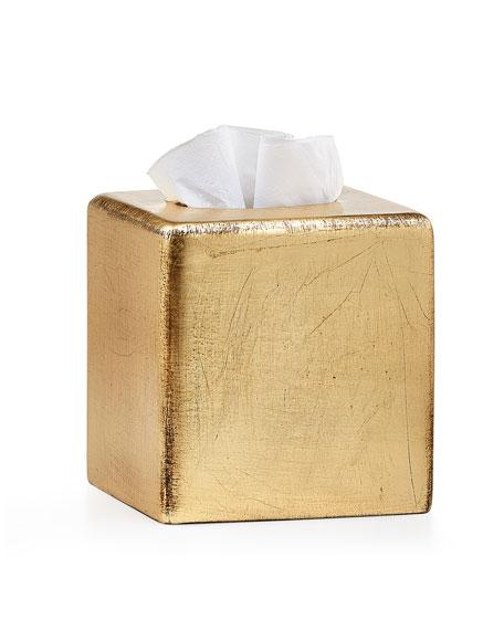 Labrazel Ava Tissue Box Cover, Gold
