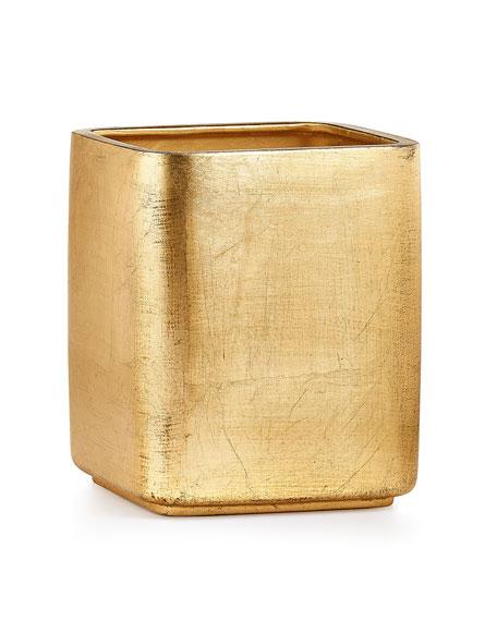 Ava Wastebasket, Gold