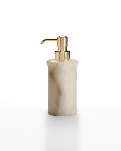 Alisa Alabaster Pump Dispenser  Cream