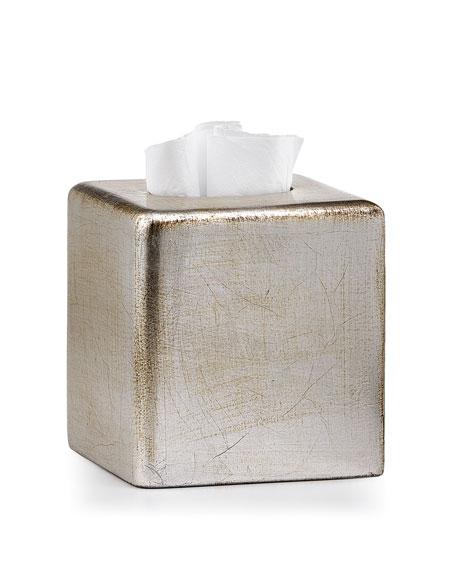 Labrazel Ava Tissue Box Cover, Silver