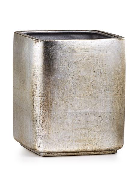 Ava Wastebasket, Silver