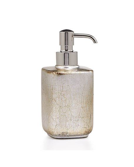 Ava Soap Pump Dispenser, Silver