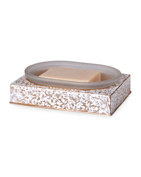 Blizzard Square Soap Dish