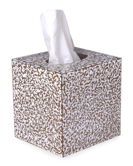 Mike & Ally Blizzard Boutique Tissue Box