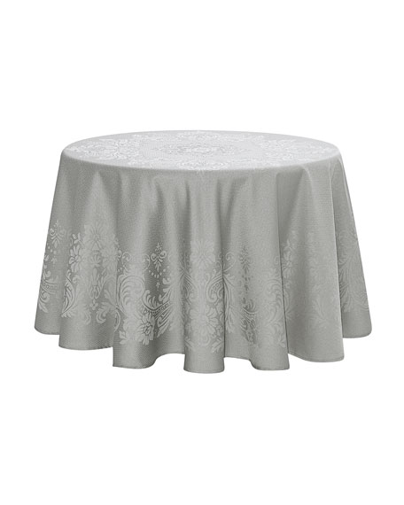 "Celeste Round Tablecloth, 70""Dia."