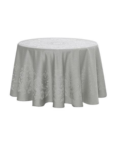 "Celeste Round Tablecloth, 70""Dia."