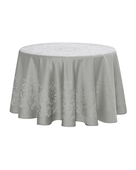 "Celeste Round Tablecloth, 90""Dia."