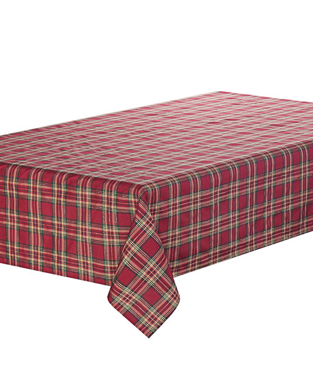 "Newberry Tablecloth, 70"" x 126"""