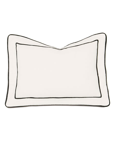 Midnight Poppy Decorative Pillow