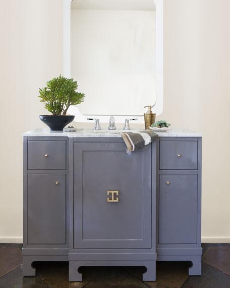 Salome Marble-Top Bath Vanity