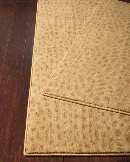 Blond Cheetah Rug, 3' x 5'