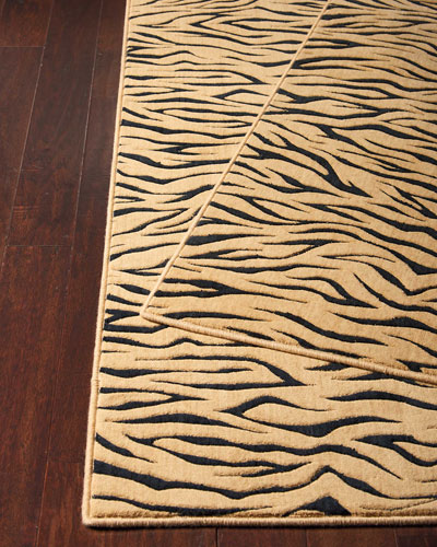 Bewitched Tiger Rug  3' x 5'