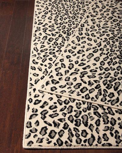 Lea Snow Leopard Runner  2'3 x 8'