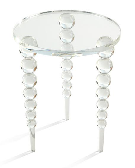 Katava Acrylic Side Table