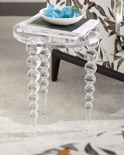 Katava Acrylic Side Table