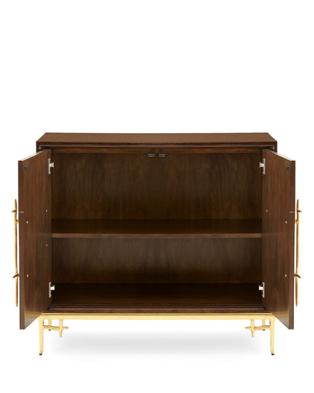Dolan Wooden Accent Cabinet