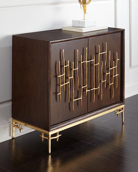 Ambella Dolan Wooden Accent Cabinet