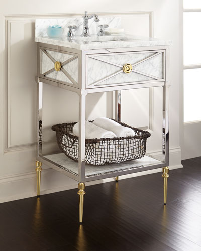 High Quality Evangelina Petite Sink Chest Quick Look. Ambella