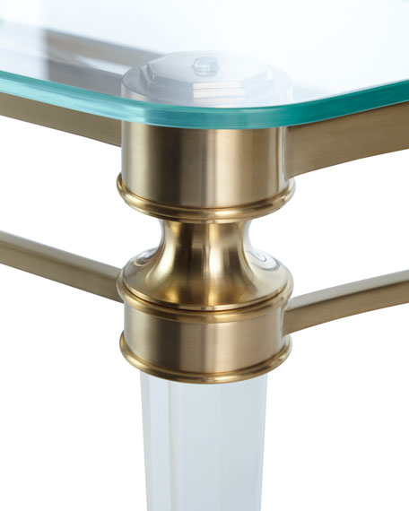 Martha Acrylic Console Table