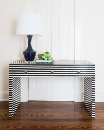 Candance 3 Drawer Console Table. Mirrored Chests   Living Room Cabinets at Neiman Marcus Horchow