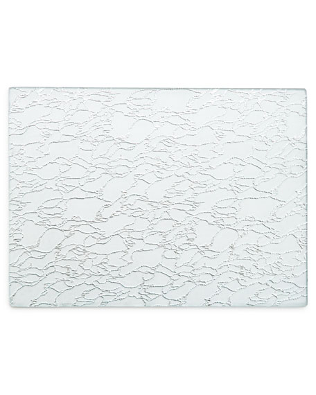 Modern Artistic Glass Rectangle Placemat