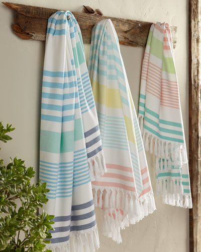 Sonia Stripe Beach Towel
