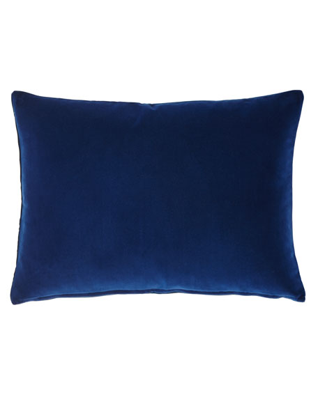 Cassia Cushion, Indigo