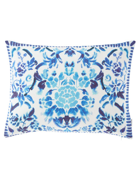 Cellini Decorative Pillow, Cobalt