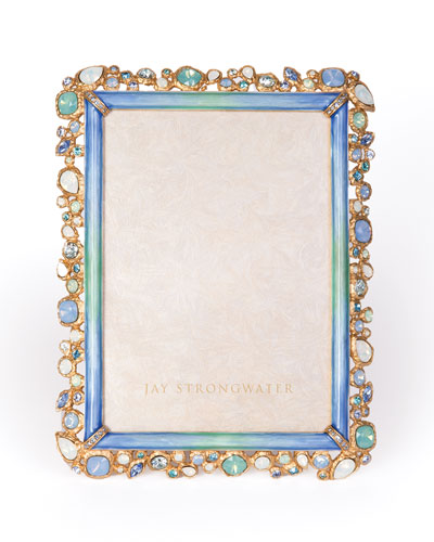 Oceana Bejeweled Picture Frame, 5