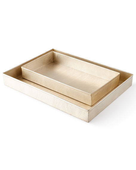 Humbolt Rectangular Trays, Set of 2