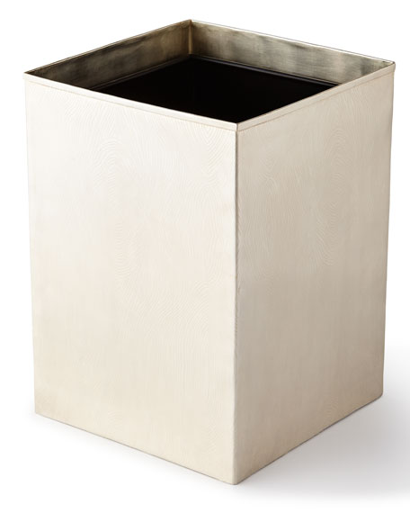Pigeon and Poodle Humbolt Straight Square Wastebasket