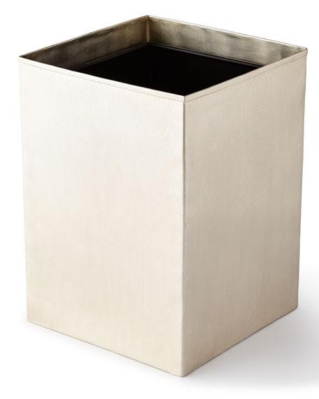 Humbolt Straight Square Wastebasket