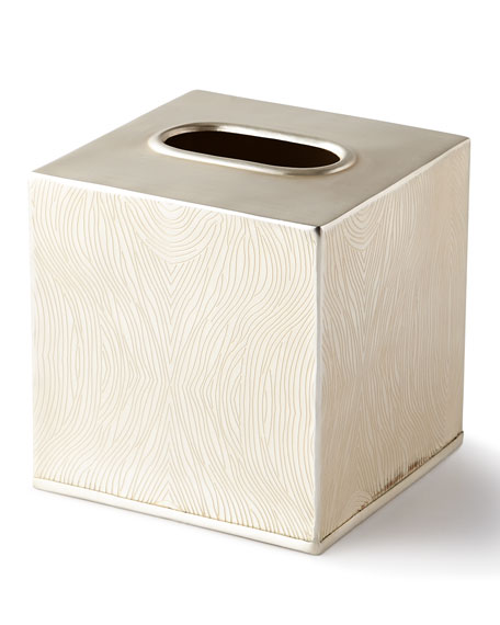 Humbolt Square Tissue Box