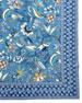"Kerala Sapphire Tablecloth, 60"" x 90"""