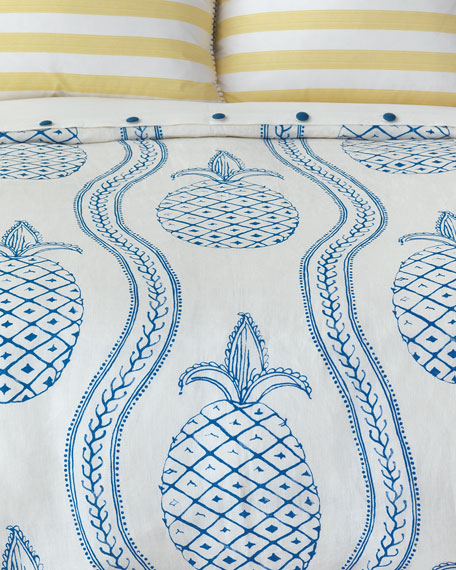 Pineapple Bobble Oversized Queen Duvet