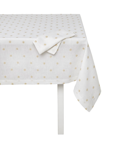 "Vogue Tablecloth, 66"" Square"