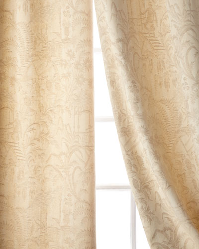 Chinese Garden Curtain  84L