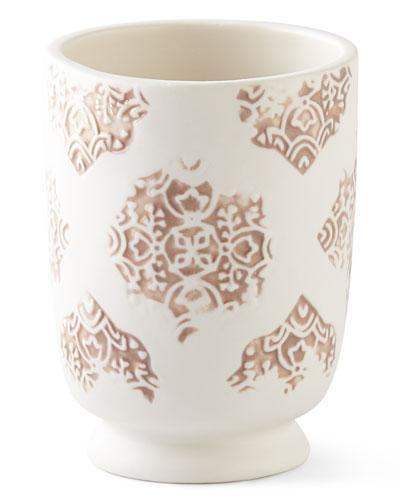 Lakki Porcelain Tumbler, Taupe