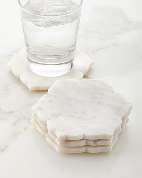 Marble Coasters, Set of 4