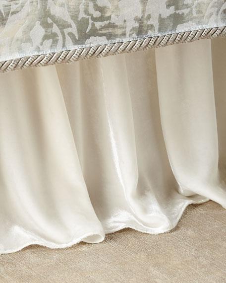 Cristabella Velvet Adjustable Dust Skirt