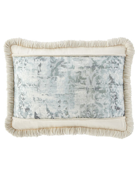 Cristabella King Sham with Velvet Piping