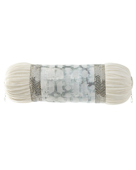 Cristabella Neck Roll with Sequin Trim