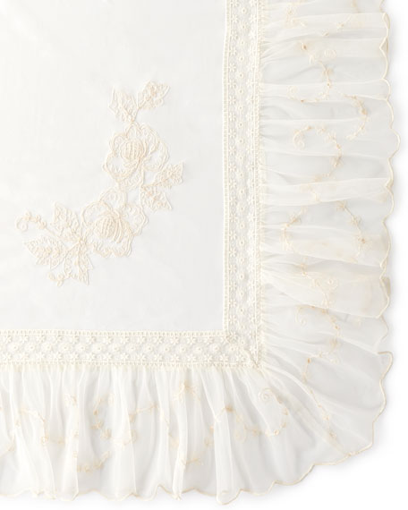 Angelic Embroidered Topper Cloth