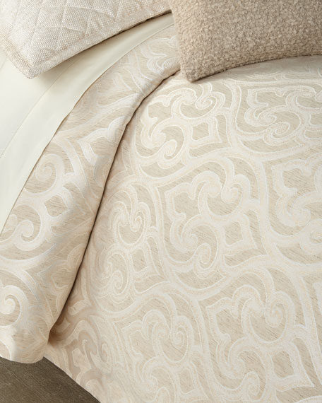 Scroll Queen Duvet Set