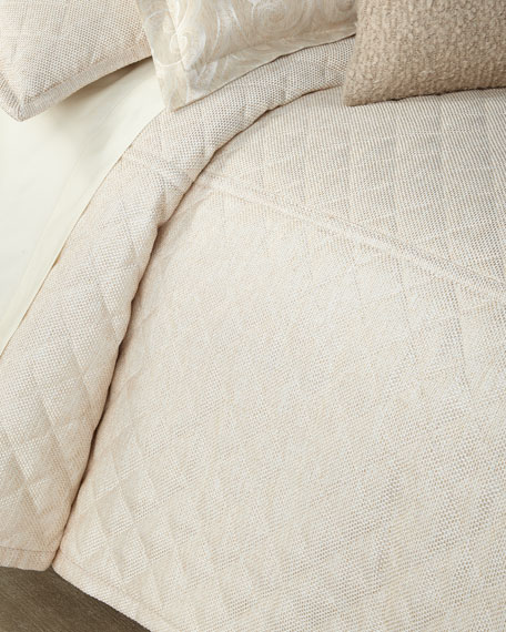 Ann Gish Raffia Queen Coverlet Set