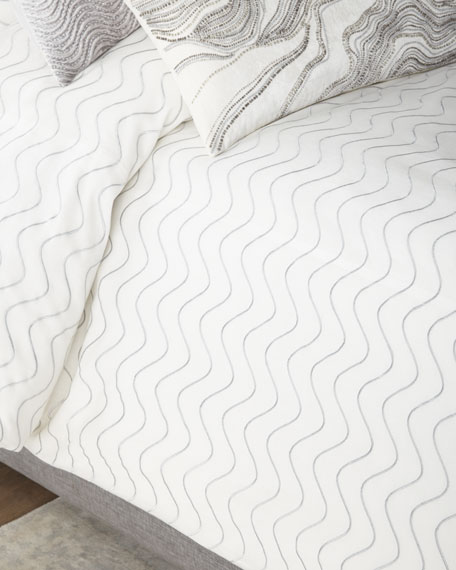 Moderna Queen Duvet Cover