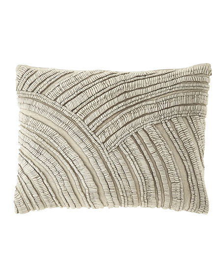 "Goa Natural Decorative Pillow, 16"" x 20"""