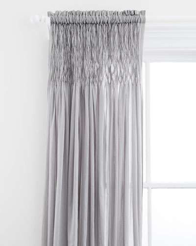 Heirloom Voile Curtain Panel, 96
